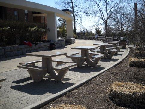 James Madison University- outdoor furniture