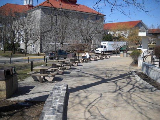 James Madison University- outdoor furniture