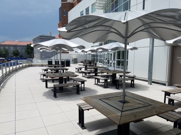 JMU patio