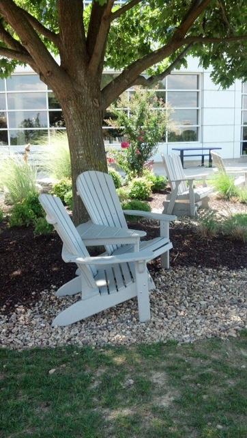 JMU- white chairs